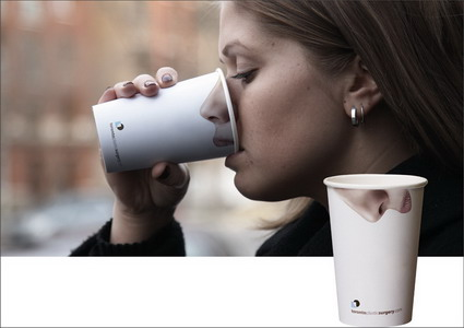 Coffe Cup Ad