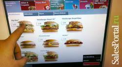 Продажи в МакДональдс